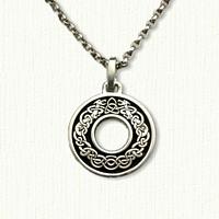 celtic kneady knot pendant